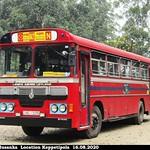 NC-1170 Galle Depot Ashok Leyland - Viking 210 Turbo B+ type bus at Keppetipola in 16.08.2020