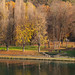 Turin. Along the river