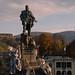 Turin. Garibaldi statue