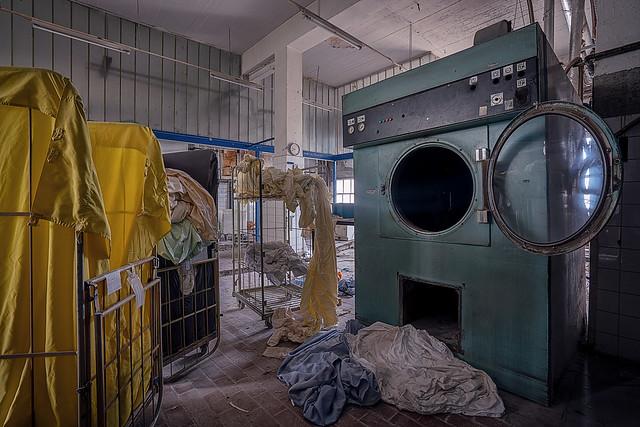 schmutzige Wäsche