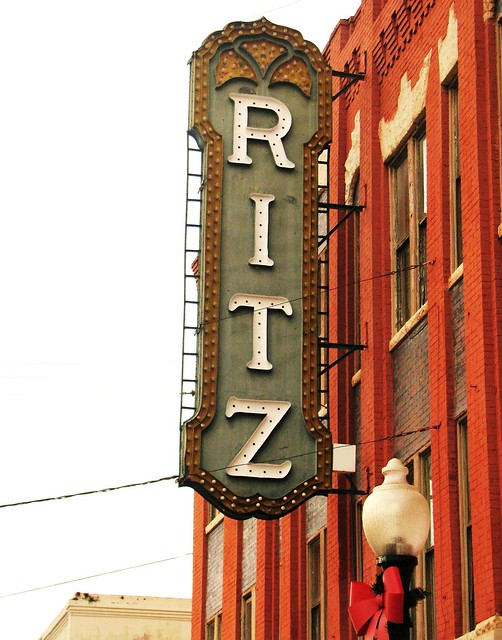 Ritz Theater signage 5242