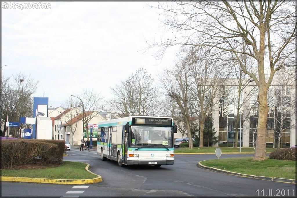 Heuliez Bus GX 317 (Renault Citybus) – RATP (Régie Autonome des Transports Parisiens) / STIF (Syndicat des Transports d'Île-de-France) n°1022