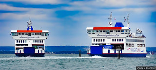 Wightlink ST Cecilia and ST Helen | by John K Thorne