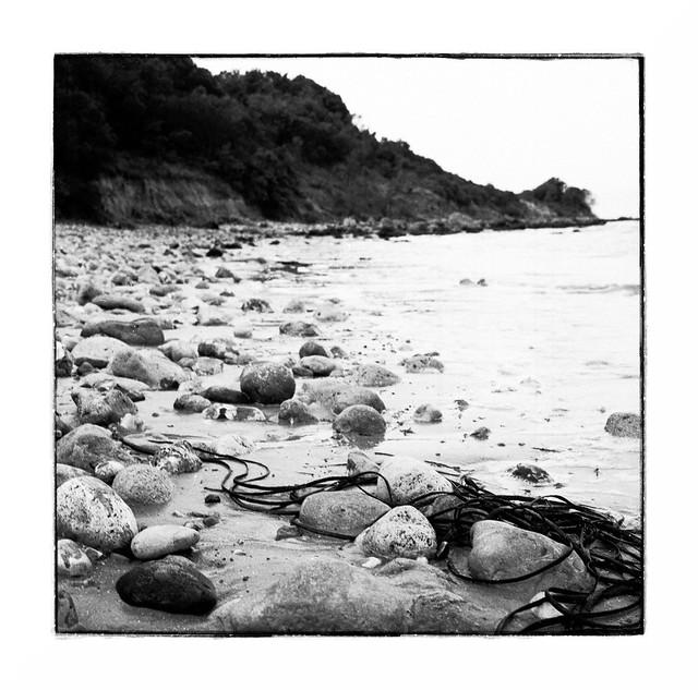 Rocks on Totland Beach