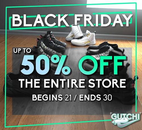 GUTCHI Black Friday Sale 2020