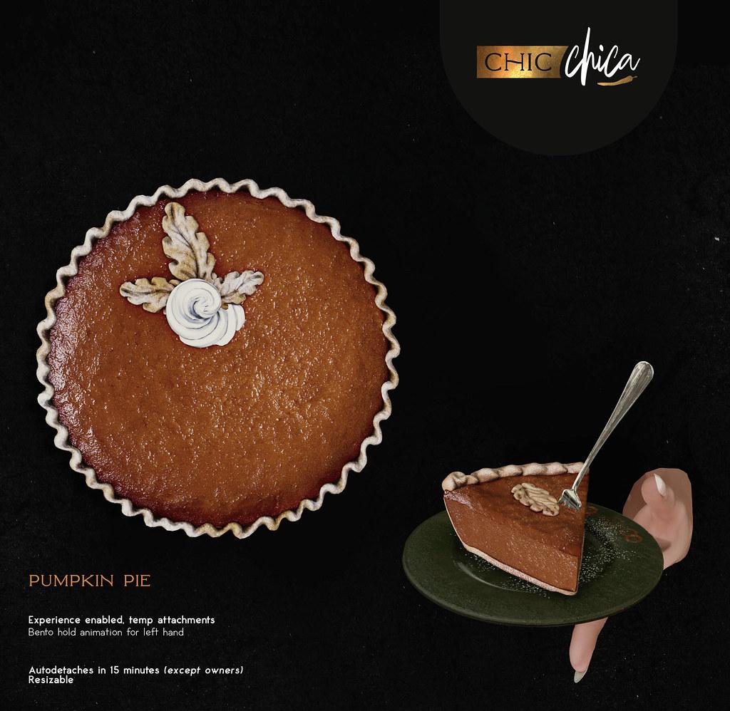 Pumpkin Pie by ChicChica @ Tannenbaum