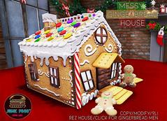 Junk Food - Messy Gingerbread House SL