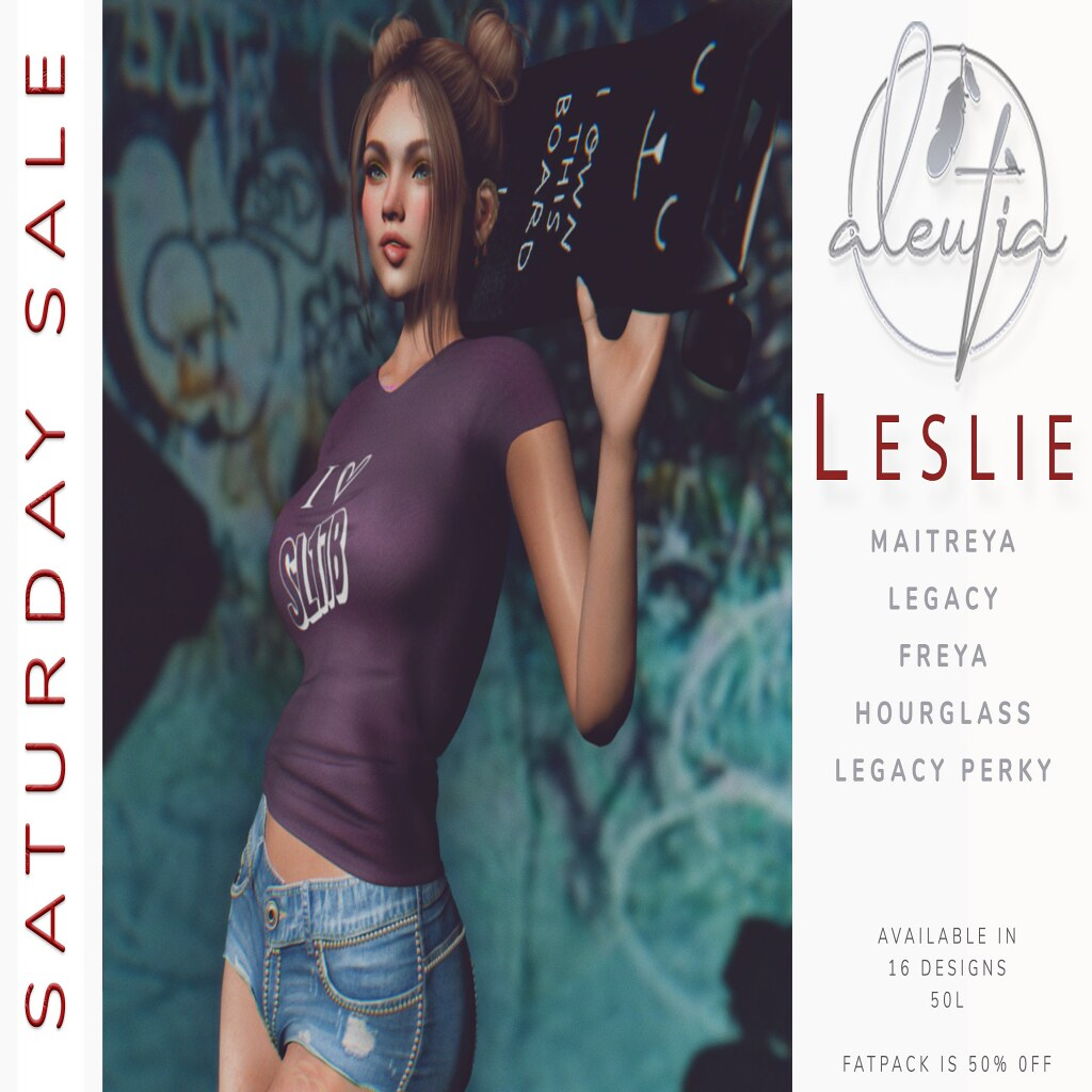[Aleutia] Leslie T-Shirt @ Saturday Sale!