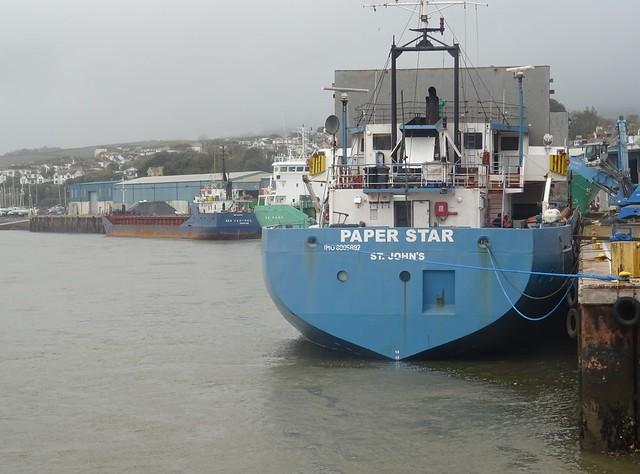M.V.PAPER STAR (IMO: 8905892) AIS Vessel Type: Cargo, Call Sign: V2VI (MMSI: 304010658) CARGO SHIPPING - SZCZECIN, POLAND