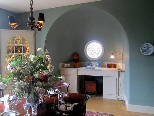 Round Window in Lamb House, Rye