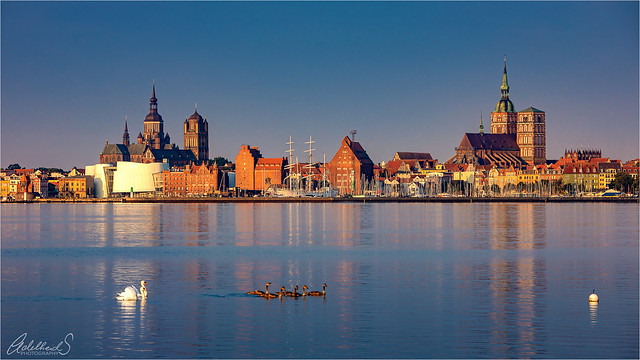 Early Morning in Stralsund, Germany