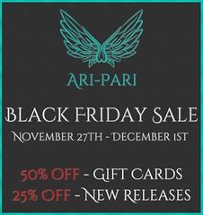 [Ari-Pari] Black Friday Sale