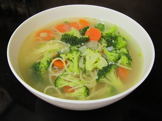 Broccoli Noodle Soup