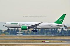 Turkmenistan Airlines EZ-A779 Boeing 777-22KLR cn/42297-1194 @ LTBA / IST 24-11-2018