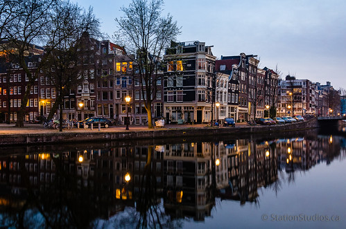 Nieuwe Herengracht at Sunrise, Amsterdam | by Station Studios