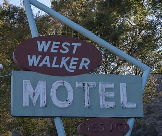 West Walker Motel Sign