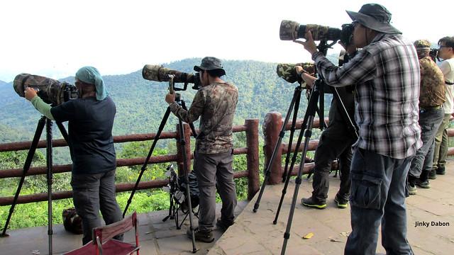 birdwatchers at Khao Yai (อุทยานแห่งชาติเขาใหญ่)