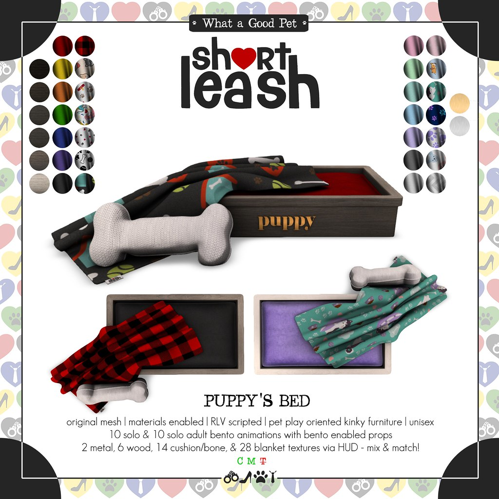 .:Short Leash:. Puppy's Bed