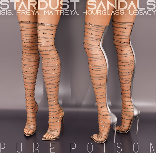Pure Poison - Stardust Sandals - Wanderlust Weekend