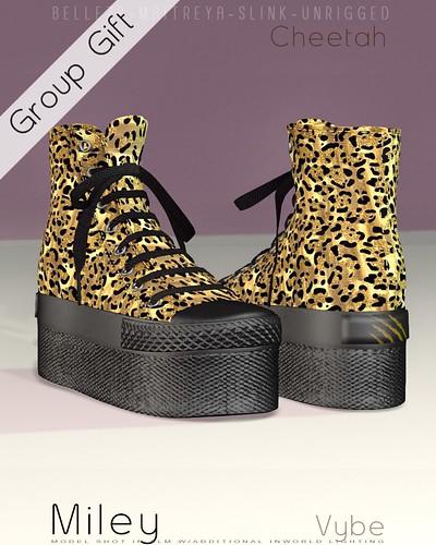 {.:Vybe:.} Miley : Cheetah Group Gift
