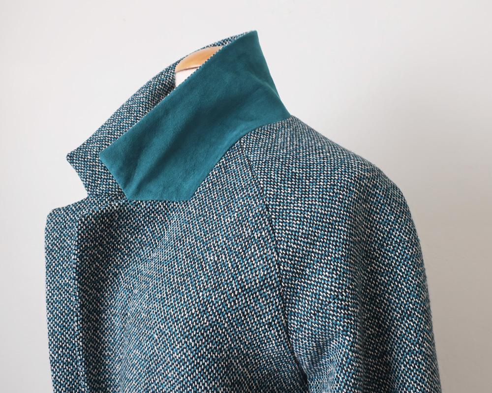Teal coat 9