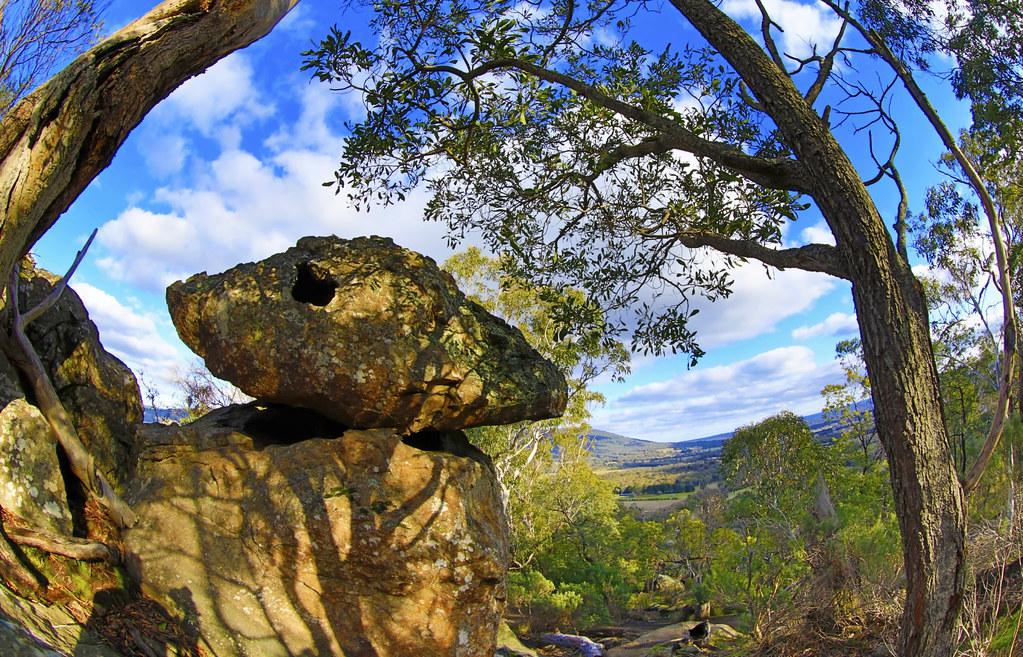 UFO at Hanging Rock . . .