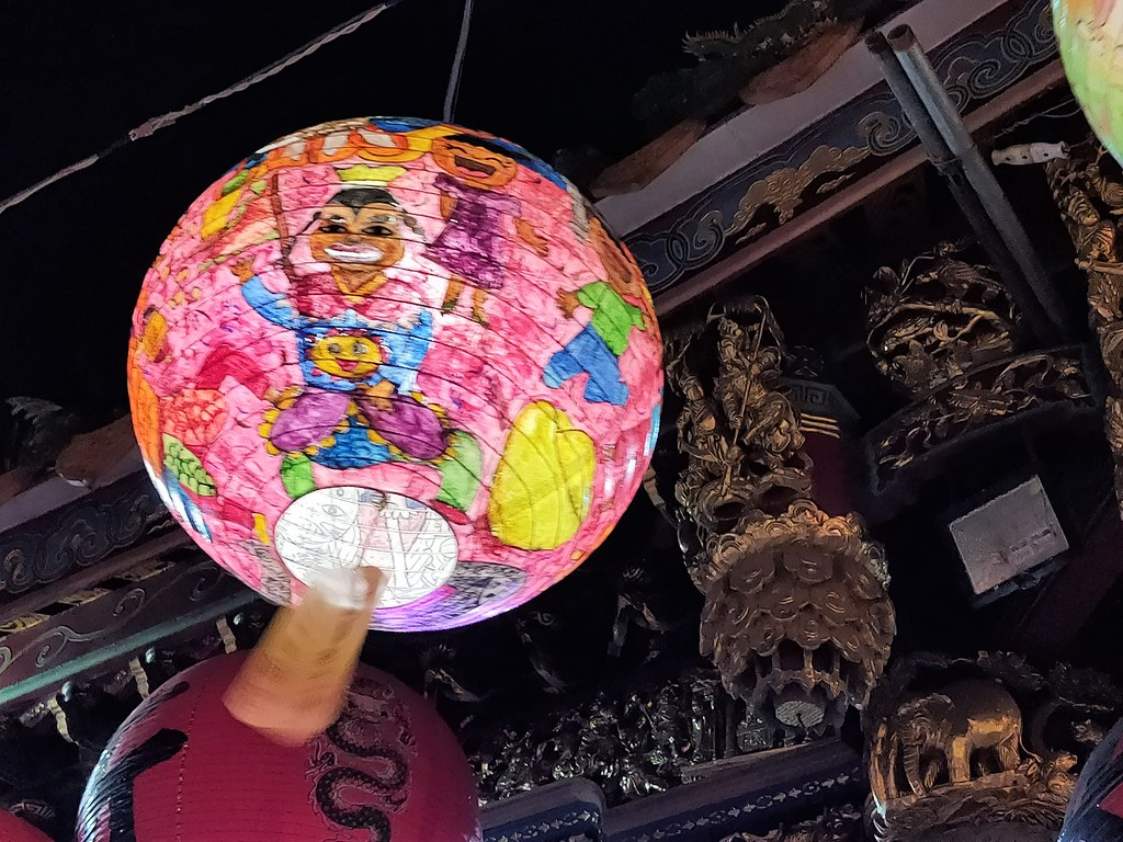 台南中西區普濟殿燈會 (12)