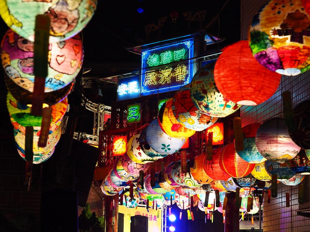 台南中西區普濟殿燈會 (9)