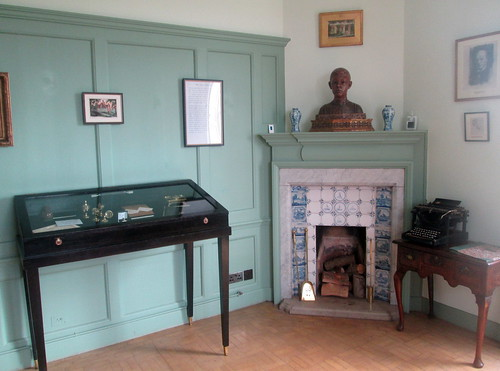 Cabinet and Fireplace, Lamb House, Rye