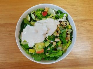 Smoked Tofu and Green Pea Salad