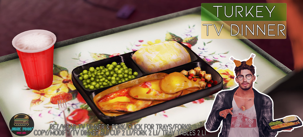 Junk Food - Turkey Tv Dinner