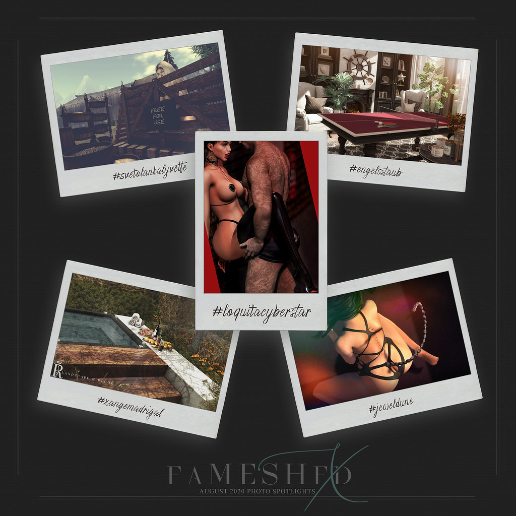 FaMESHed X August 2020 Photo Spotlights