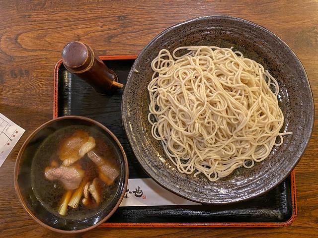 Kamotsuke Soba(鴨つけ蕎麦)