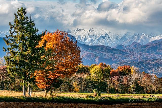 Showa village view of Tanigawa