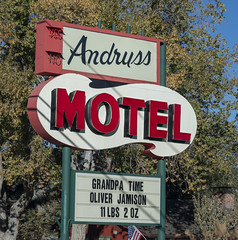 Andruss Motel Sign