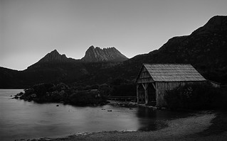 Dove lake boat shed. Cradle mountain. Tasmania | by Colin_Bates