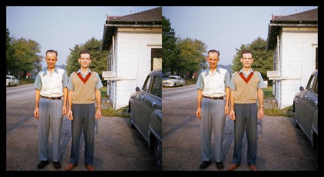 Bill and Leo - Brady's Bend, PA - September 28, 1952
