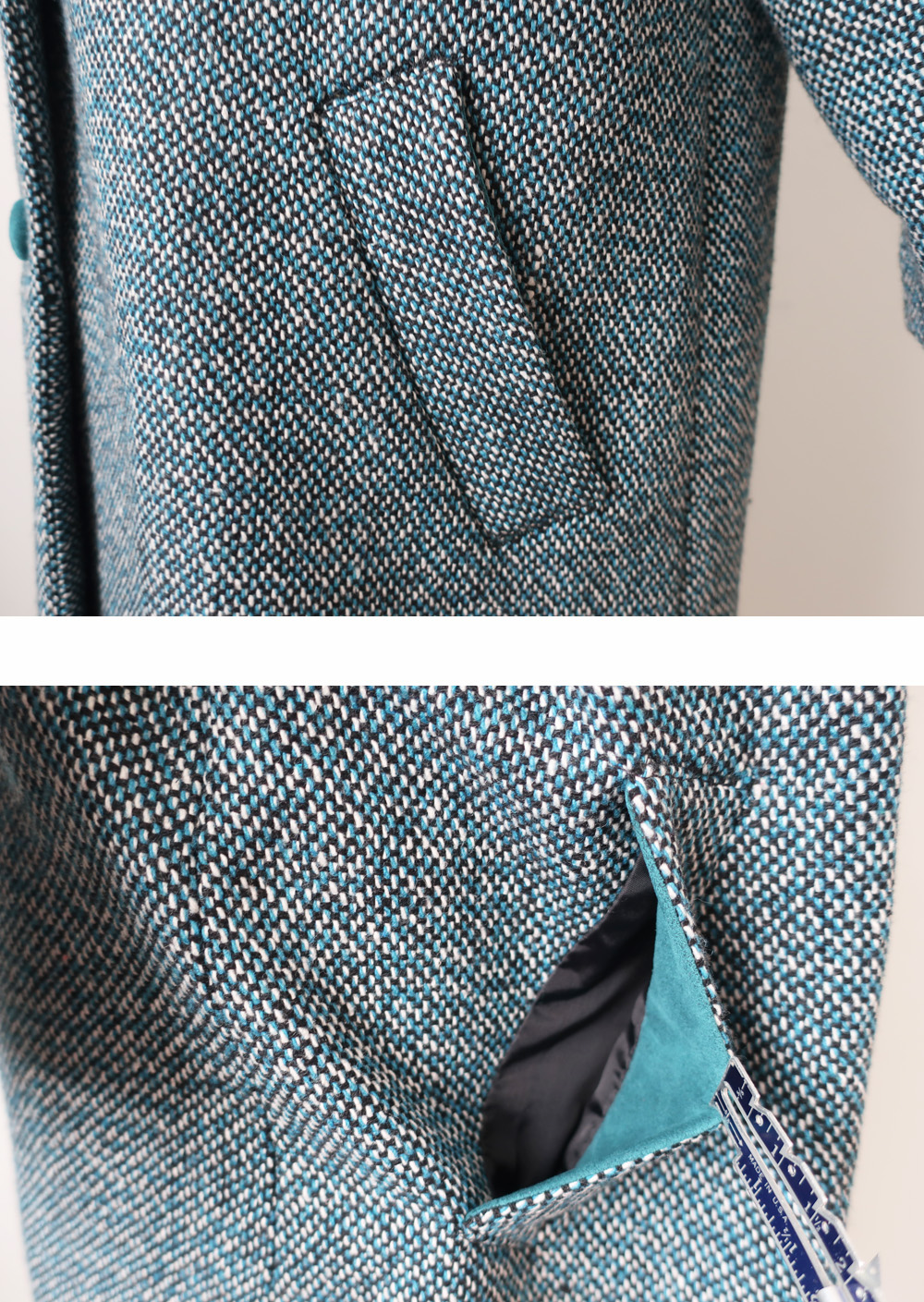 Teal pockets