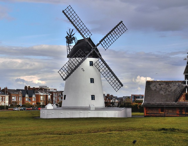 The iconic Lytham Windmill