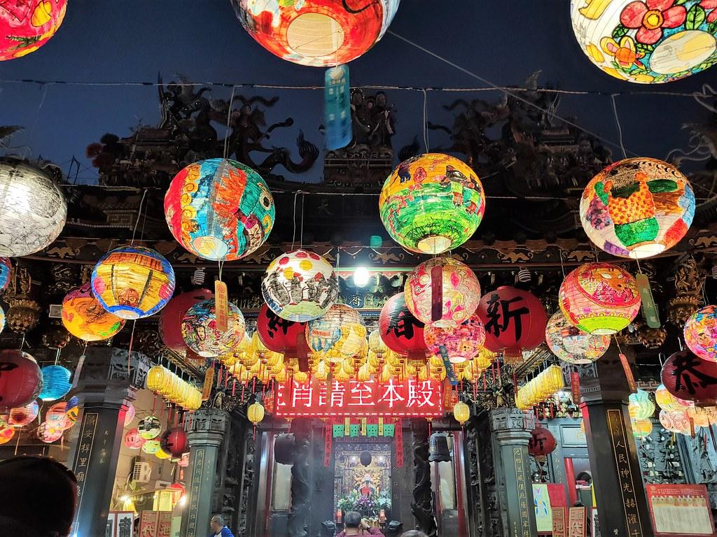 台南中西區普濟殿燈會 (10)