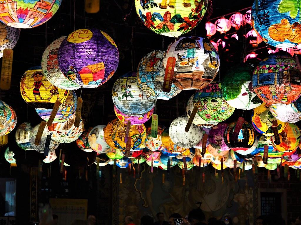 台南中西區普濟殿燈會 (4)