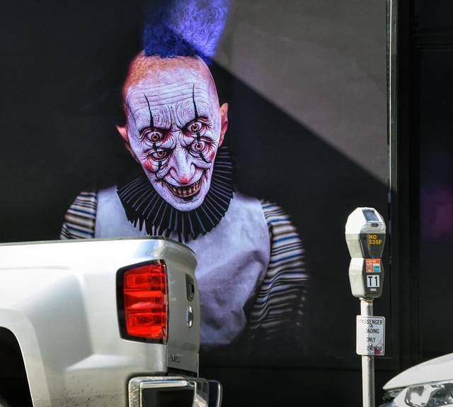 Parking Meter Clown