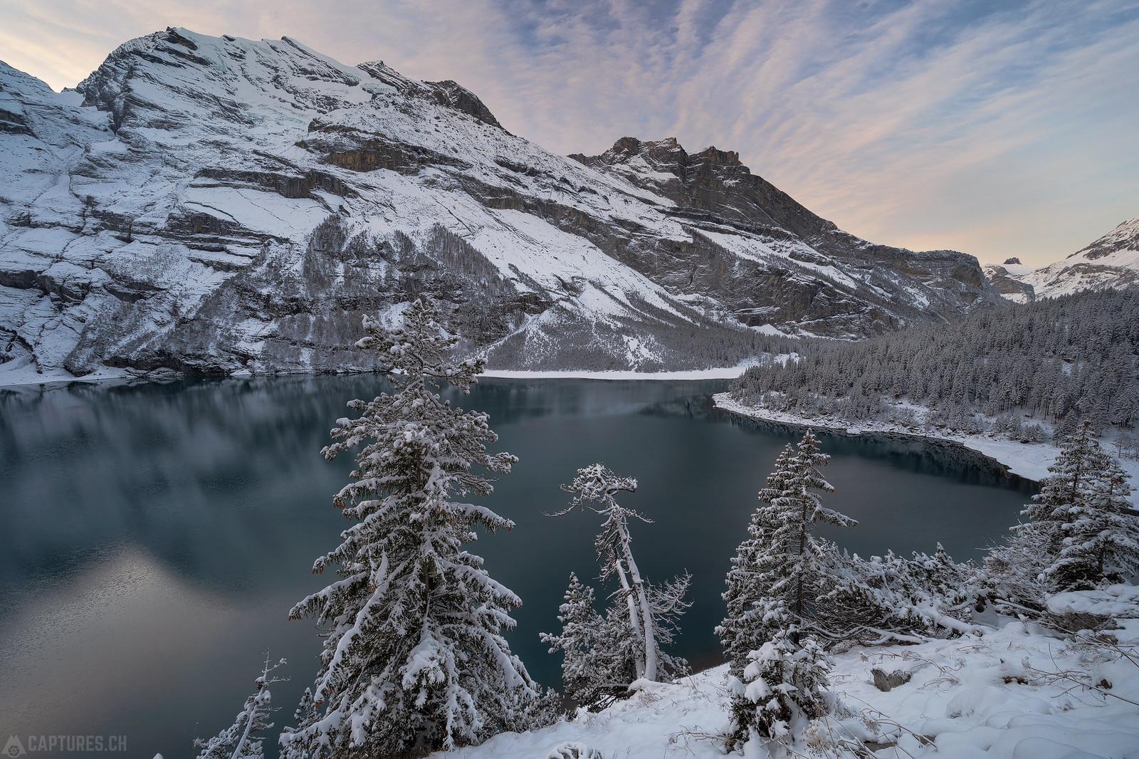 Fresh snow - Oeschinensee