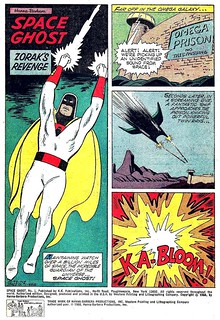 Space Ghost #1 / splash panel | by micky the pixel