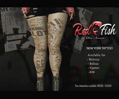 RedFish - NewYork tattoo