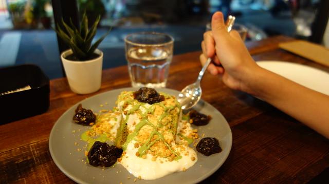 抹茶粿粿蛋糕 (NTD$130)@新北中和/嗑滿