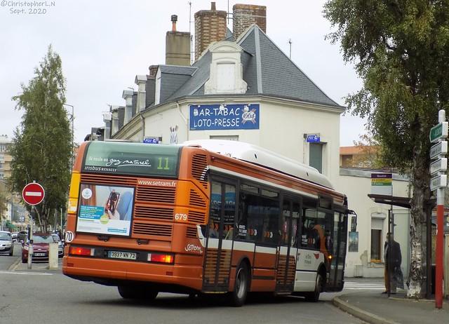 Irisbus-Renault Agora S GNV n°679