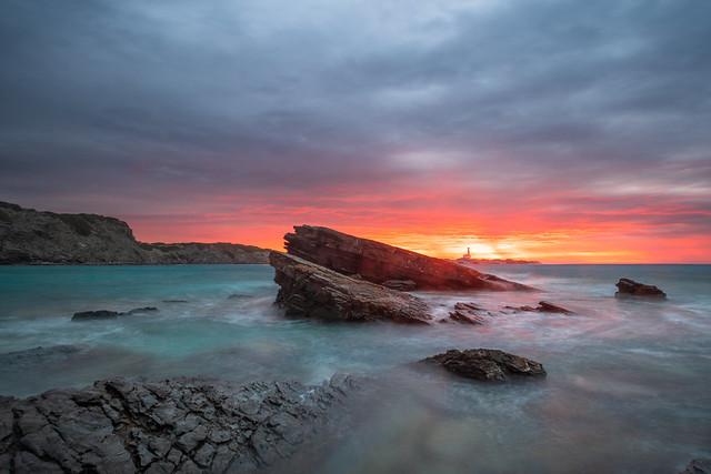 Cala Presili: Once in a lifetime sunrise!