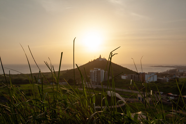 Sunset Over the Dakar Peninsula