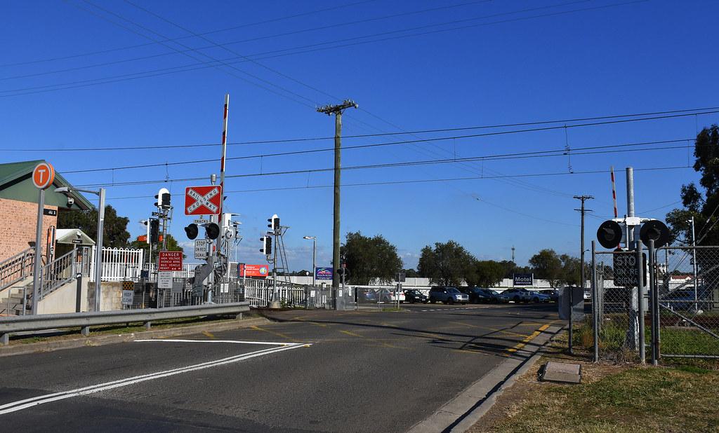 Level Crossing, Clarendon, Sydney, NSW.